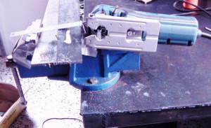 Image of BOSCH GST 25M Jigsaw Cut 6mm Steel