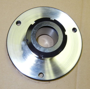 Photo of a Flange-Mounting ER40 Collet Chuck