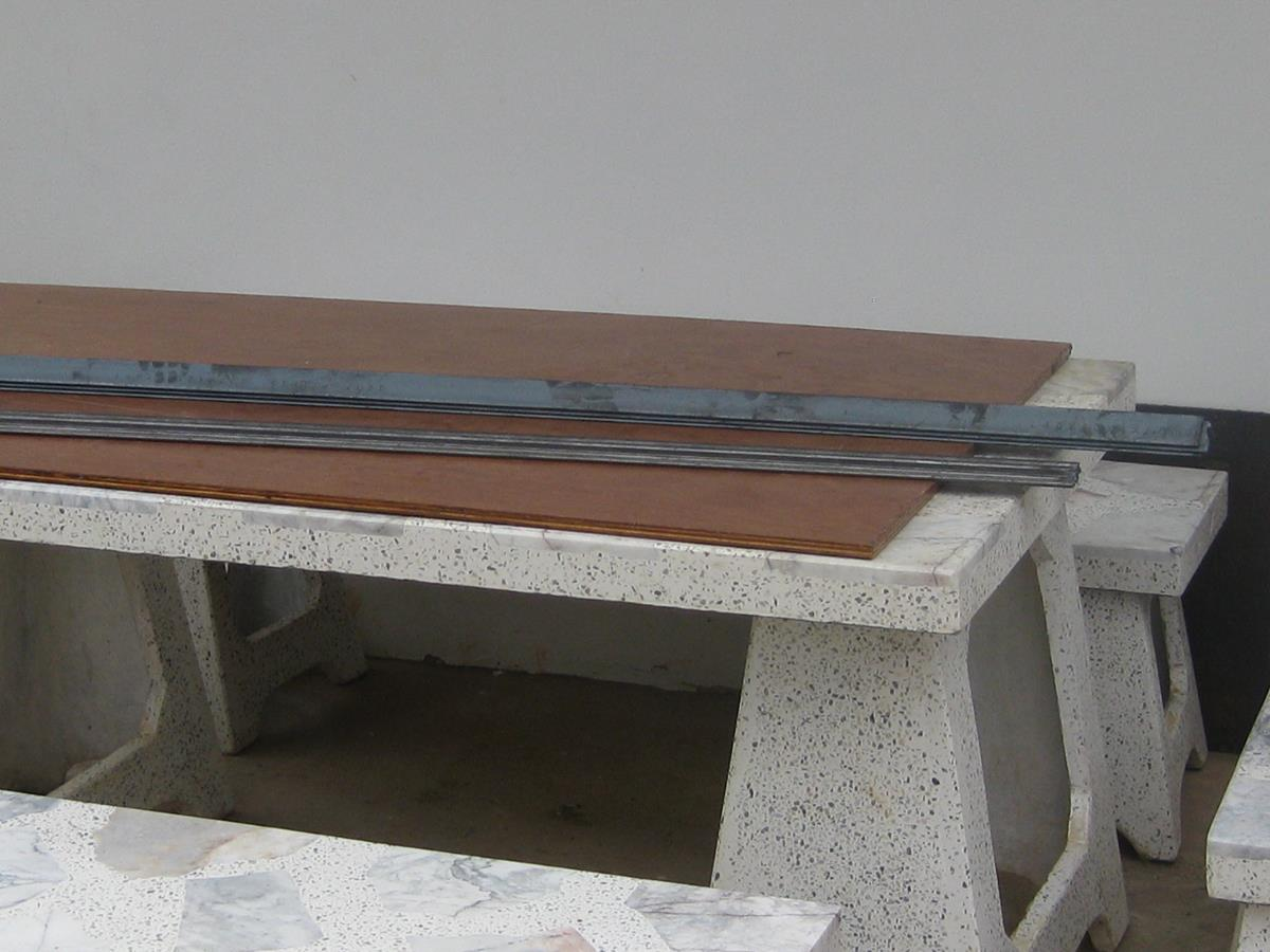 Image of BMS Bright Mild Steel Angle Iron Bought Pakchong Thailand