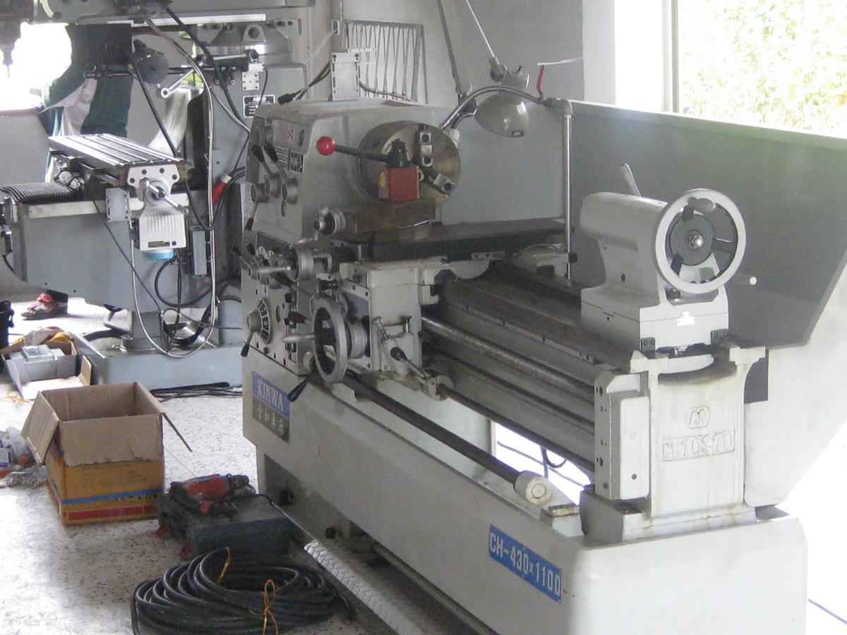 Image of New KINWA CH 430 1100 Lathe In Pakchong Workshop