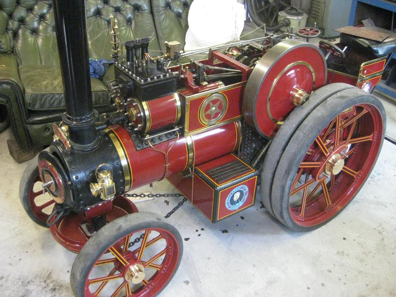photo of Tonys Own 4 Inch Scale Model Traction Engine