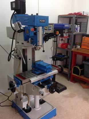 Photo of Milling Machine Installed In Workshop