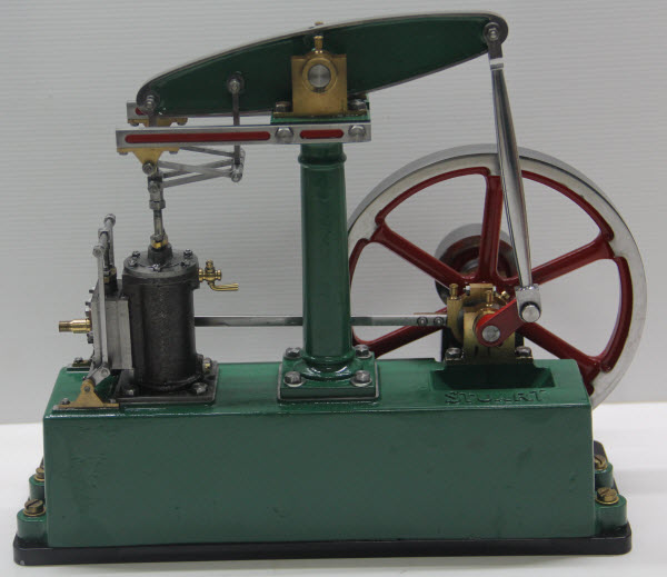 Photo Of Stuart Turner Beam Engine Built In Thailand Painted And Operational Front View