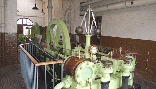 Photo of the Ellsemere Port Steam Engine