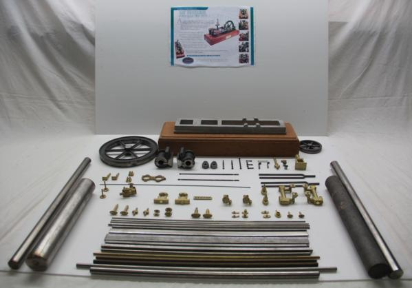 Image of Horizontal Steam Twin Engine Kit from Cotswold Heritage