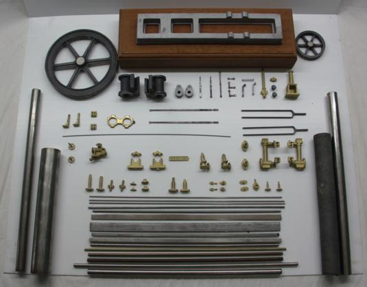 Photo of Horizontal Steam Twin Engine Kit from Cotswold Heritage