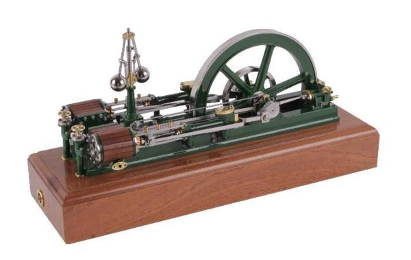 Photo of Sir William Armstrong Twin Cylinder Steam Engine Modeel