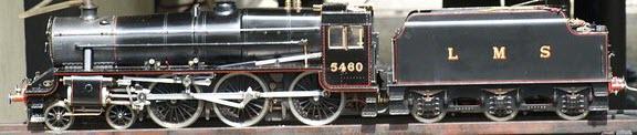 photo 3.5 Gauge LBSC Doris Black Five Model