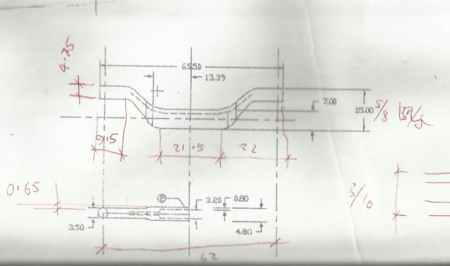My Bogie Equaliser CAD Drawing For My Gauge 1 Black 5 Bogie Scan