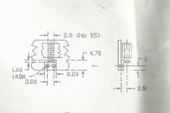 Scan Axle Springing Detail From The Cad GA Drawing