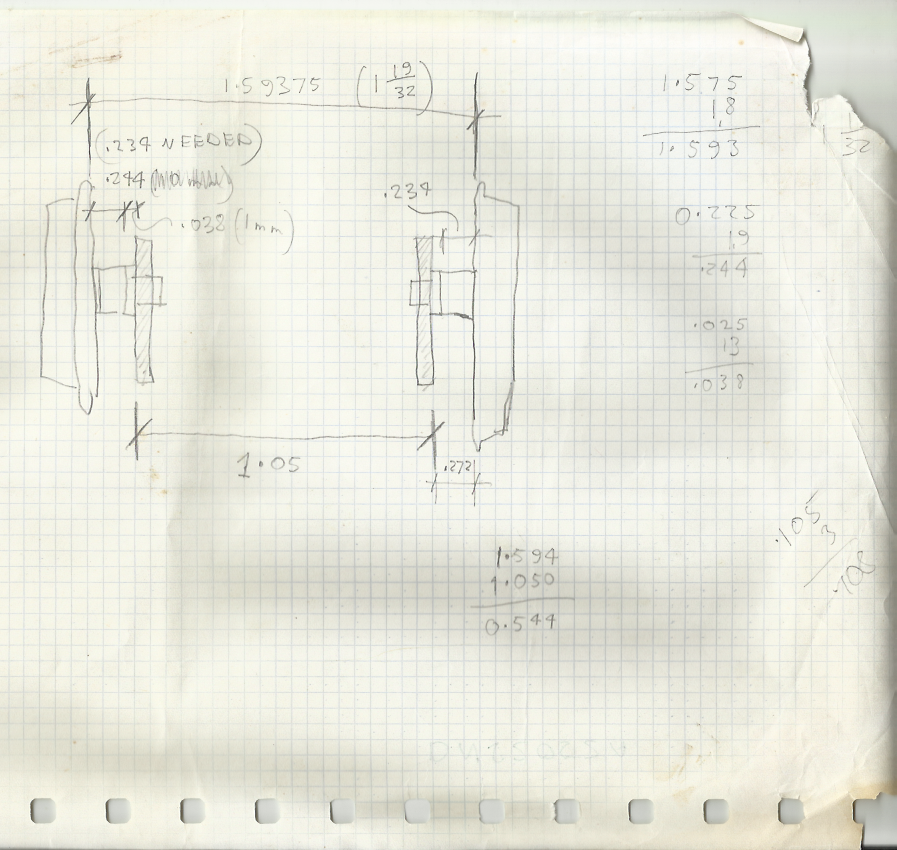 Scan A Hand Drawn Sketch Setting Out The Wheel And Frame Dimensions