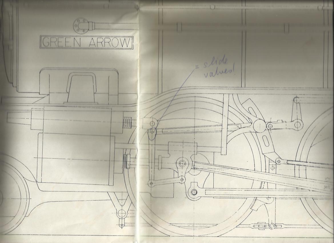Image of Valvegear From Martin Evans' Gauge 1 Green Arrow Model