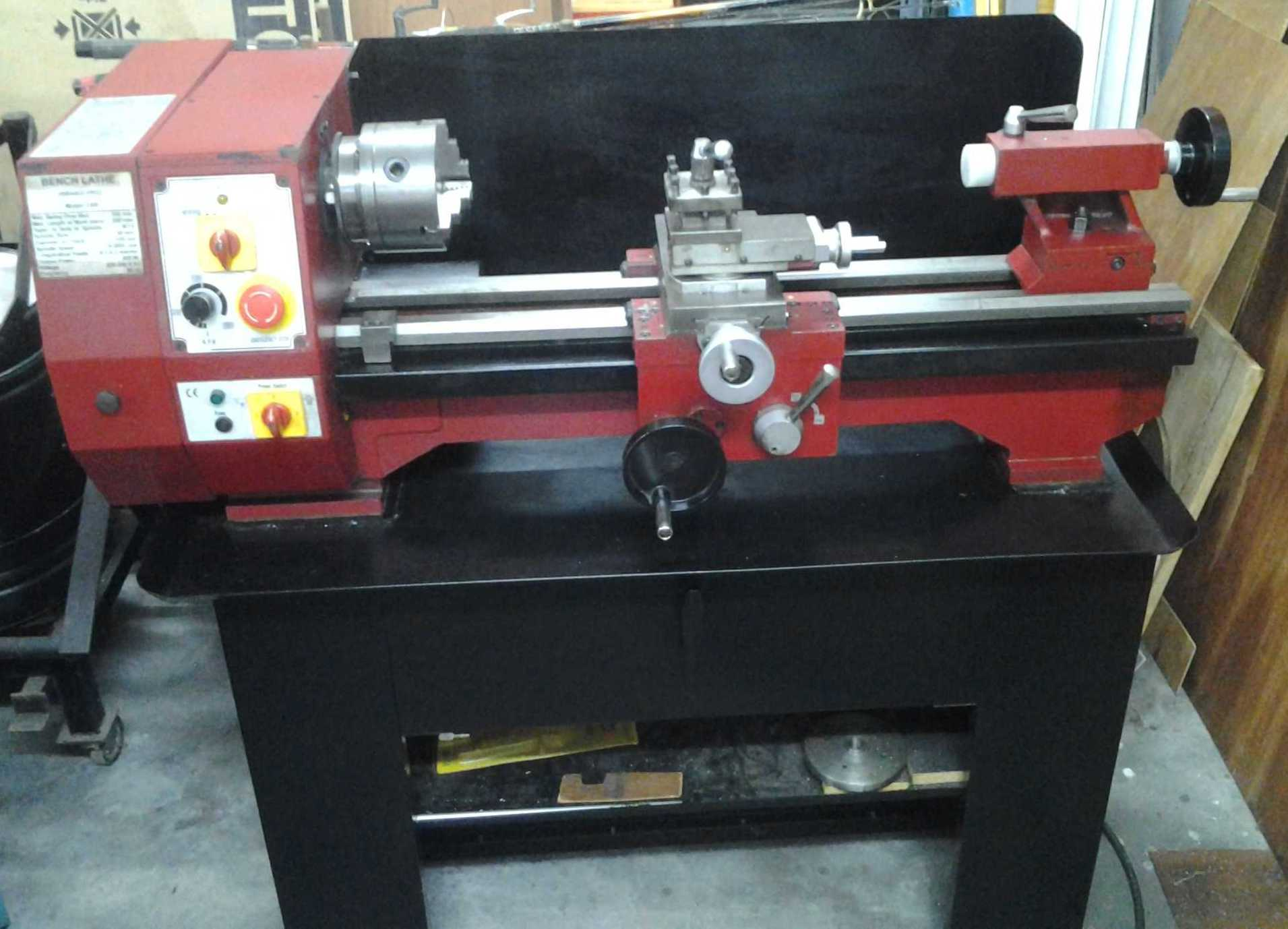 Image of Lathe Sieg C6B 550 Metric (Variable Spindle Speed)