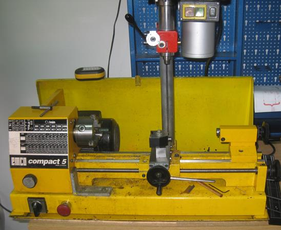 Photo of Emco Compact 5 Mini Lathe With Milling Attachment