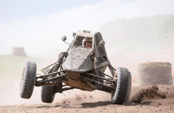 image showing A Barracuda Mini Buggy In Action - Not John's Vehicle