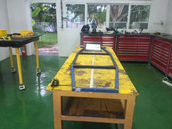 Image showing John's Barracuda Mini Buggy Chassis Building Starting - Day 1