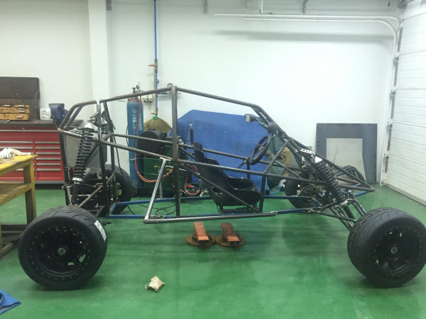 BARRACUDA OFF ROAD MINI BUGGY BUILD IN THAILAND FROM PLANS