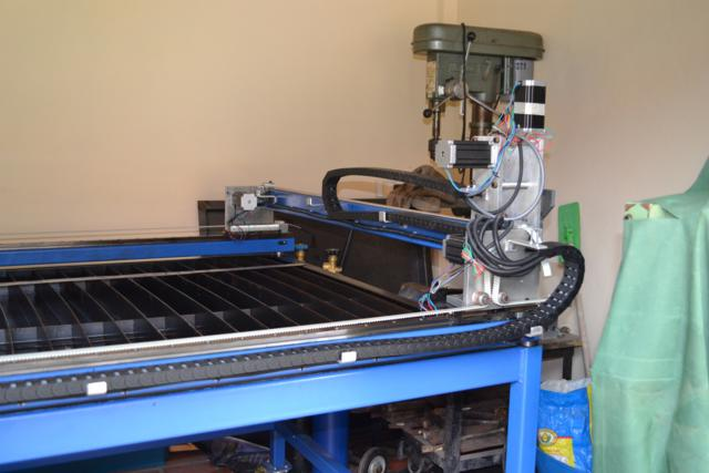 Image of Model Engineering in Thailand Example CNC Plasma Cutting Machine Cutting Gantry Assembly 1
