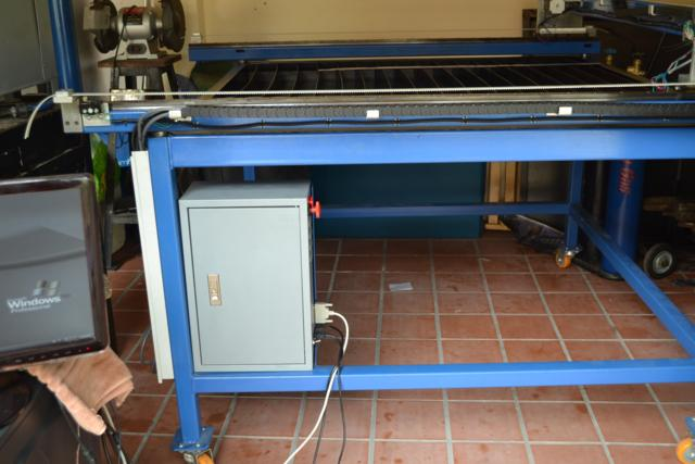 Image of Model Engineering in Thailand Example CNC Plasma Cutting Machine Linear Motion Control Cabinet 1