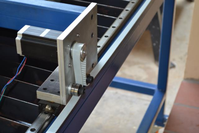 Image of Model Engineering in Thailand Example CNC Plasma Cutting Machine Linear Motion Stepper Motor 1