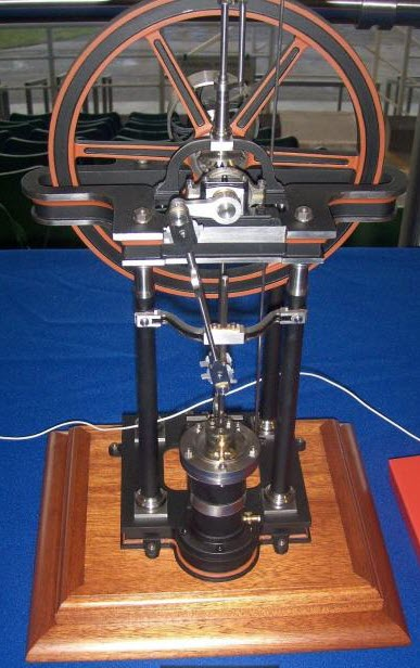 Image showing Completed Example of Benjamin Goodfellow Overcrank Engine Model